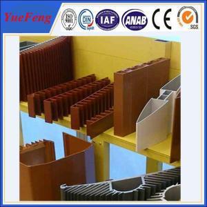 OEM aluminum profiles for heat sink manufacturer, aluminum company supply types of profile