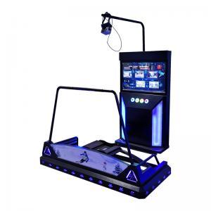 Quality Theme Park VR Arcade Machines Ski Driving Simulator Electric Dynamic Platform for sale