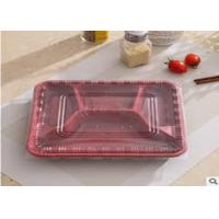 Quality Disposable PP Biodegradable Plastic Packaging , 4 Compartment Microwave Safe Containers Lunch Box For Catering for sale