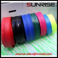 Quality 2015 high quality YKK #7 PVC open end nyon coil colorful printing tape waterproof zippers for sale