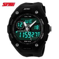 Quality Multi Time Zone Analog Digital Wrist Watch With Japanese Battery for sale