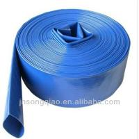 pvc lay flat hose used for irrigation,construction project,mining