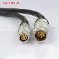 Quality 2B Male 6-Pin LEMO to 1B Female cable for RED Scarlet Epic for sale