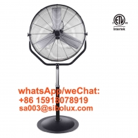 Buy cheap 30inch electric Pedestal Fan Oscillating Metal Construction Stand Fan 360 Degree from wholesalers