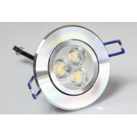 Quality High Power 3W 240-270LM 2700-6500K LED Recessed Ceiling Lights for Shopping Mall for sale