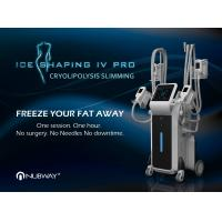 Quality CE / FDA approved safety 4 cryo handles beauty machine slimming vertical cryolipolysis fda for sale
