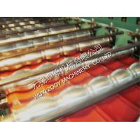 Quality corrugated sheet Roof Tile Roll Forming Machine with Hydraulic Station 15m/min for sale