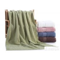 Buy Dobby Border Terry 100% Cotton Bath Towels Set For Bathroom 400gsm at wholesale prices