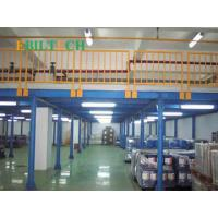 Quality Warehouse Storage Industrial Mezzanine Stairs Space Saving Galvanised Steel Platforms for sale