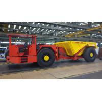 China Low Noise Underground Coal Mining Equipment , Yellow Mining Dump Truck on sale