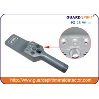 Buy Portable Security Metal Detector Wand With Sound And Vibration Alarm at wholesale prices