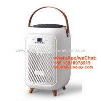 Quality 2021 new design smart Portable UV USB Home Air Purifiers for office and home appliances/ with hand held for sale