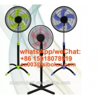 Quality 18 inch plastic stand fan with cross base office and home appliances/AC Power Source/ Ventilador De Pie for sale