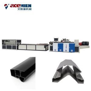 Quality PVC WPC Wood Plastic Composite Production Line Hollow Door Panel Customized Voltage for sale
