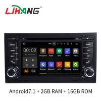 Quality Car Steering Wheel Control Car Dvd Player With Navigation System Android 7.1 for sale