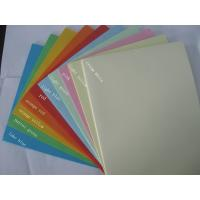 Quality hot sale 80g A4 100sheets/pack color copy paper for office printing for sale