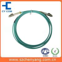 Best LC - LC OM3 DX Fiber Optic Patch Cord 10G Fiber With Low Insertion Loss wholesale
