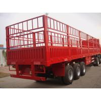 Quality 40 Tons Side Wall Livestock Semi TrailersThree Axle High Strenth Steel Material for sale