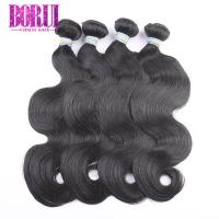 China No Tangling Brazilian Virgin Human Hair 100 Remy Human Hair Extension BORUI on sale