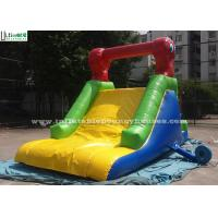 China Custom Made Indoor Mini Commercial Inflatable Slides / Caterpillar Inflatable for Pool on sale