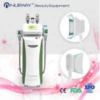 Buy cheap Four handles Cryolipolysis / coolshape body slimming machine / fat freezing machine from wholesalers