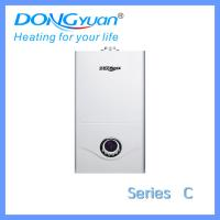 Wall mounted installation gas boiler with LEC display from Dongyuan gas appliances company