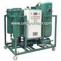 Quality Portable ZJC Steam Turbine Oil Filtration Machine for removing water and impurities for sale