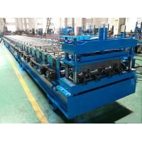 Quality 1250mm Feeding Width Steel Floor Decking Sheet Roll Forming Machine To Philippines for sale