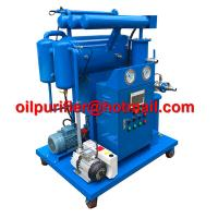 Quality Single-stage Vacuum Insulation Oil Reclamation, Cable Oil Purifier, Dielectric Oil Processing Machine manufacture China for sale