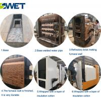Fully automatic 8mw industrial usage small wood fired steam once-through boiler