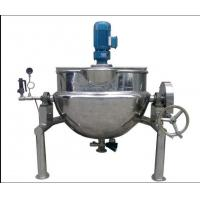 Quality Jacket Kettle 500 Liter Steam Jacketed Cooking Kettle ooking Electric Kettle Electric Oil Jacket Kettle Mixing for sale