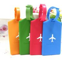 Quality Rectangle Soft PVC Luggage Tag for sale