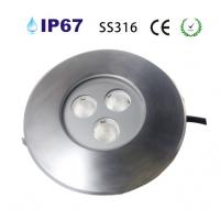 Quality SS316 3*2w led underground light for sale