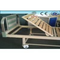 Best Mobile Semi Fowler Adjustable Hospital Beds With Wooden Mattress Base wholesale