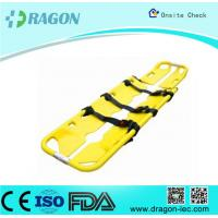 Quality Seperatable Yellow Emergency PE Foldable Stretcher Scoop for Transfer Patients for sale
