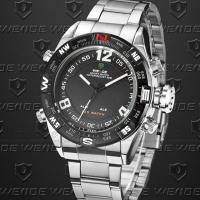 Quality Dual Time Weide Digital Sports Watch Analog Display , Men S Watches for sale