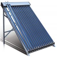 Quality Evacuated tube Solar Collectors with heat pipe condensor diameter 24mm for sale