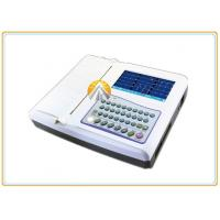 Quality 12 Leads Waveforms Portable ECG Machine 7 Inch TFT LCD Touch Screen 12 Channel for sale