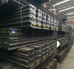 Quality Standard Heavy Railway Steel Rail Steel Products Steel Rail for sale