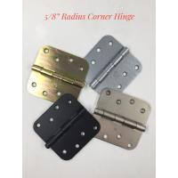 Quality 5/8 Inch Radius Corner Square Iron Door Hinges For 30-55 Days Delivery for sale