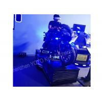 Quality Car Driving 9D VR Simulator Motorcycle Racing Game Vr 110-240V For Game Zone for sale