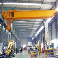China Light Dead Weight Overhead Beam Crane Wire Rope Single Girder Optional Capacity on sale