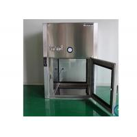 Quality GMP Standard Dynamic Air Shower Pass Box For Pharmaceutical Factory for sale