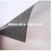 Black Perforated Window Film Images