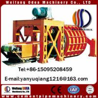 China Reinforced precast concrete pipe making machinery concrete culverts on sale