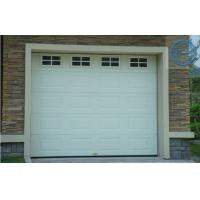 Quality Sectional White Overhead Garage Doors Automatic Galvanized Steel For Villa for sale