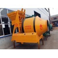 China 500L Ready Mix Portable Concrete Mixer , Industrial Electrical Drum Cement Mixer on sale