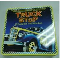 Quality wholesale music cd tin box with hinge for sale