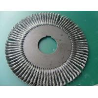 Quality Torsion wire brush for removing PE layer of steel pipe end with good durability for  PE layer bevleing of pipe end for sale