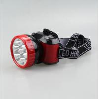 Buy cheap Plastic rechargeable LED head flashlight from wholesalers